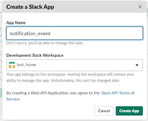 Создание Slack